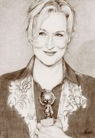 .:Meryl Streep:. by ChristinaMandy