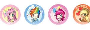 MLP buttons by lelacelu