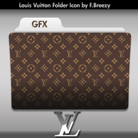 Louis Vuitton Folder Icon by FBreezy