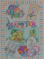 Easter Greeting Card by AshTwin