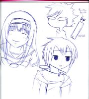 DRAWING - Sketch 6 - by piko-chan4ever