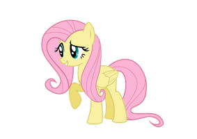 First Vector - Fluttershy! by Drakefire3k