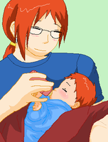.:Father and son:. by Sofy-Senpai