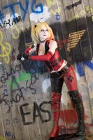 Batter Up! : Arkham City : Harley Quinn by Lossien
