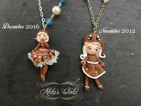New gingerbread chibi by Akiko-s-World