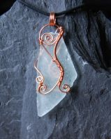 Sea Glass Pendant #7 by Freak7109