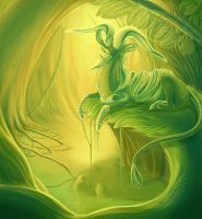 In This Haze of Green and Gold by Tikall