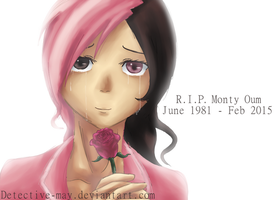 R.I.P Monty Oum (Jun 1981 - Feb 2015) by Detective-May