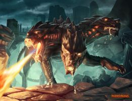 Monstrous - Cerberus by Jarow