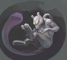 Mewtwo by hisako