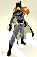 Young Justice Batgirl - EoSS Commission by EryckWebbGraphics