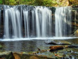 Ricketts Glen State Park 91 by Dracoart-Stock