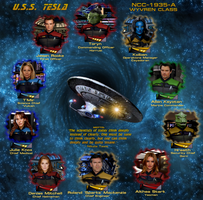Crew of the Tesla-A by monkeysuncle30