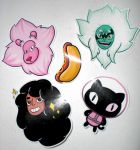 Steven Universe Stickers -Group 2- by 13anana