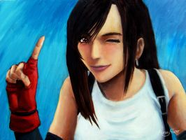 Tifa Lockhart Painting by Adyon