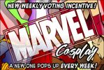 New Puck Voting Incentive!  Marvel Cosplay! by ElectricGecko