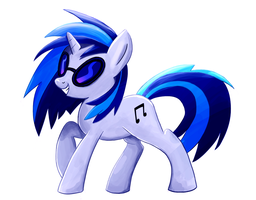 Vinyl Scratch by RedXFour