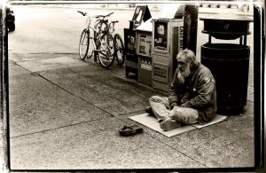Photo: Berkeley Homeless Man by kspatula