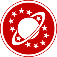 Galaxy Quest Logo red by CmdrKerner