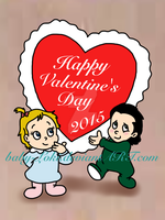 Happy Valentine's Day 2015 by Baby-Loki