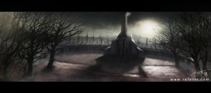 Cemetery Gates - Black Age by rafater