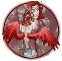 CrimsonWings by Sayda