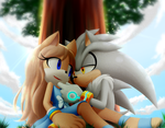 :Comm: Silver and Amanda by Myly14