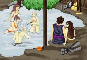 Collab: Hot Springs Clean-Up Crew by Kris10-Karleskint