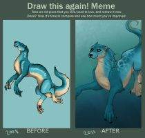 Draw This Again Meme by GeminiDoodle