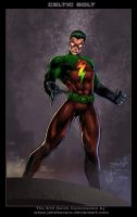 $10Commission:Celtic Bolt by johnbecaro