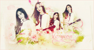 [SHARE PSD] Taeyeon - Pink Fall by GenieDesigner