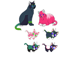 Alcatraz and Blitz's Kittens are for sale!!! by N1GHTWOLFXD