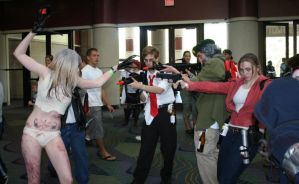 Left 4 Dead, goin' down by Neon-Stitches