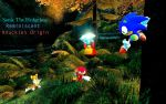Sonic The Hedgehog Reminiscent Knuckles Origin by shadow759