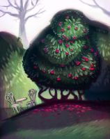 Looming Camellia by Limelight-Night