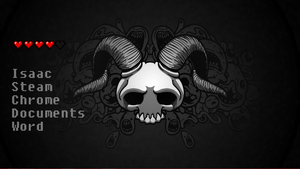 Binding of Isaac Rainmeter by Oliverhsj