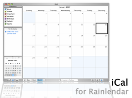 iCal 1.0 by FusionIce