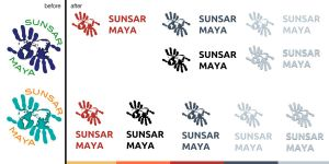Sunsar Maya Logo Redesign by michalkosecki