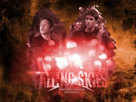 Falling Skies-Ben-Wallpaper by GrafixGirlIreland