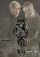 Draco and Narcissa Malfoy by x-TheMadHatter-x