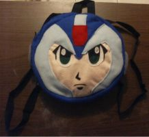 Megaman X Back Pack by IrashiRyuu