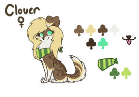clover ref 2013 by sheriiquills