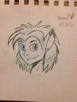 Blue pencil test ( with Stanley Sphinxson) by Dinoboy134