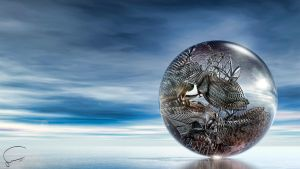 Digital Art Sphere2011 06 by Santosky