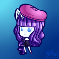 .:Teeny Chibi - Rarity:. by Ctykty