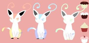 Long eared cat adopts [OPEN] by Guswls