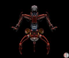 Destroyer Droid - Final 2 by mech7