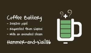 Coffee Battery 200pixel by Hammer-and-Nail86