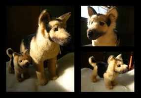 Kosen German Shepherd Plushes by The-Toy-Chest