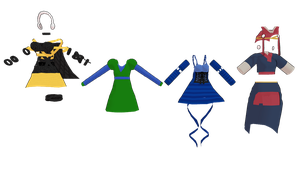 MMD MB outfits pack 1 dl by mbarnesMMD